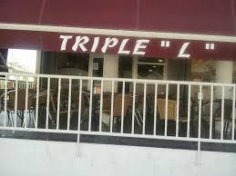 """BAR TRIPLE """"L"""""""