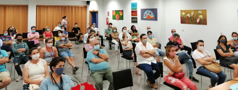 Reunión para la creación de una plataforma de venta online en Molina de Segura