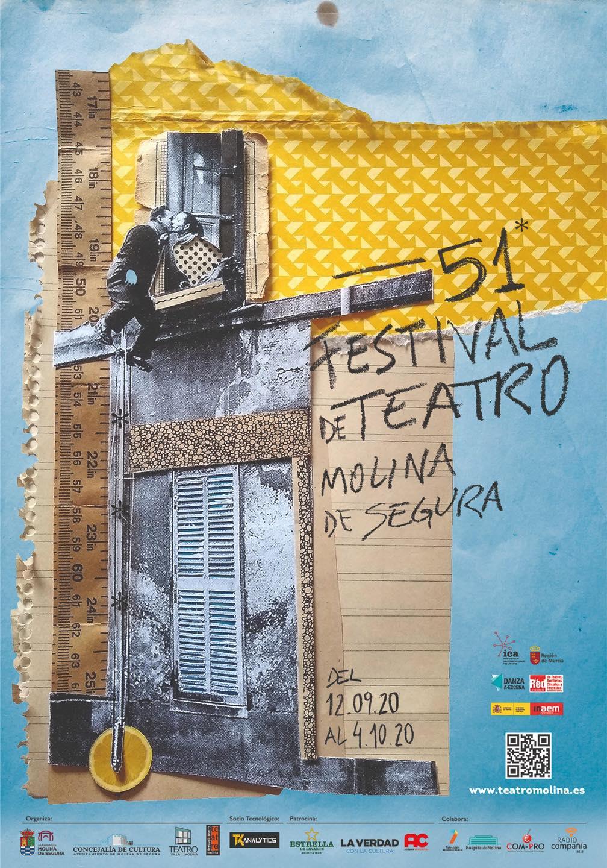 Concurso de escaparates del 51 Festival de Teatro
