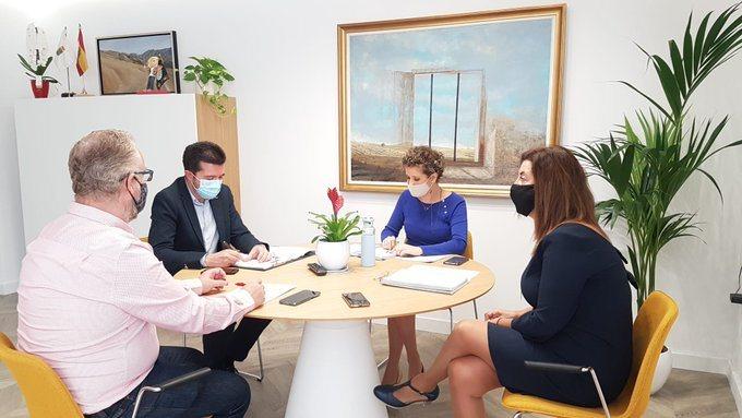 Reunión para reactivar la economía municipal tras la crisisCOVID19.