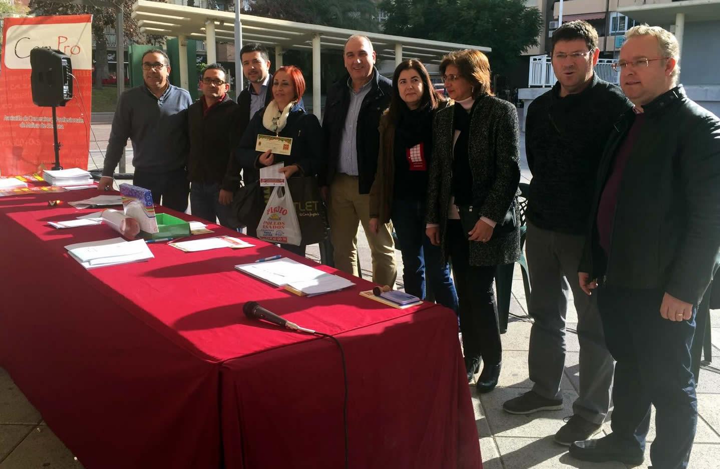 ENTREGADOS LOS PREMIOS de la campaña navideña 'LOS COMERCIOS DE MOLINA DE SEGURA TE QUIEREN REGALAR 4.000 EUROS'