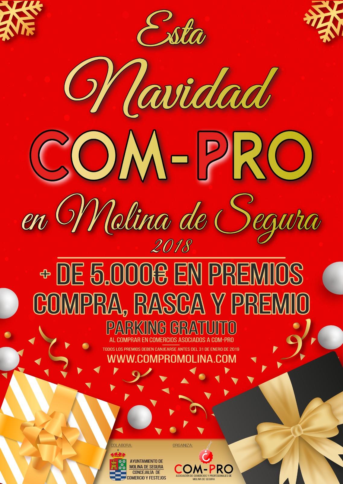 Esta navidad COM-PRO en Molina