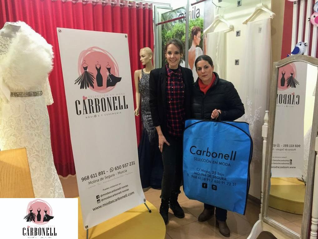 Entrega sorteo Facebook Modas Carbonell